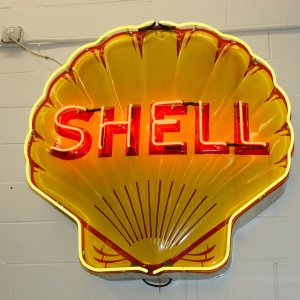 shell oil vintage sign_Karen Blaha